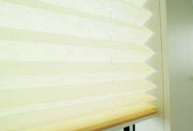 xl pleated blinds